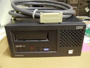 IBM 3580 L33/l3h 96P0942 Ultrium Lto3 SCSI External Tape Drive With Cables